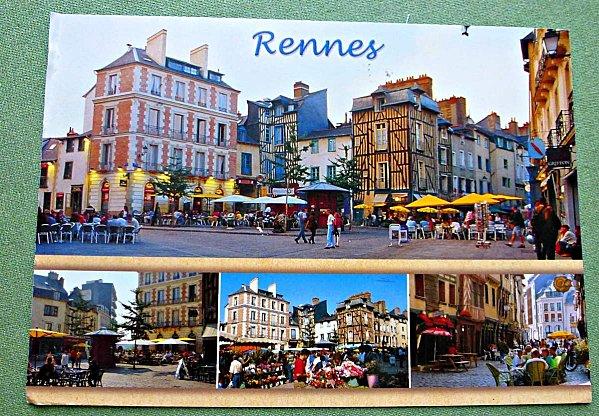 carte Rennes de Mimi