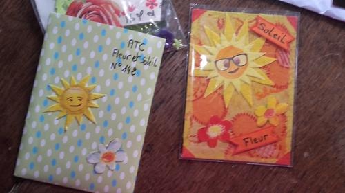 atc Soleil et fleurs