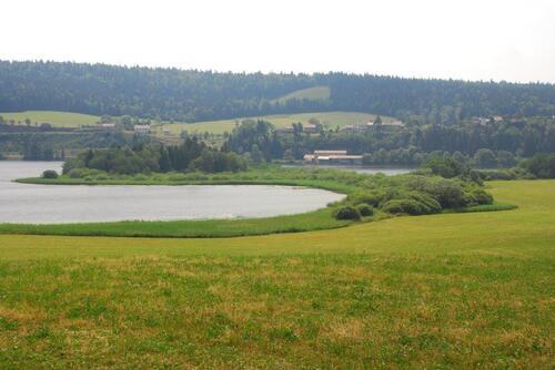 Le lac de l'abbaye