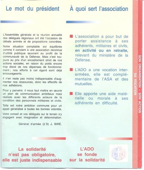 ADO (Association pour le Développement des Oeuvres d'entraide dans l'armée)