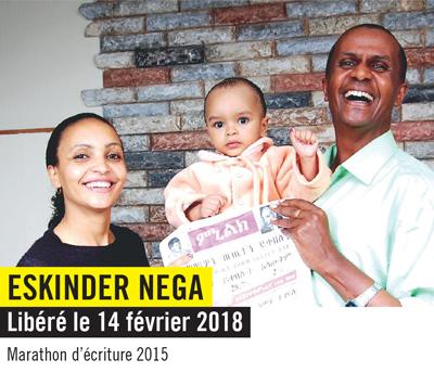 Eskinder enfin libre