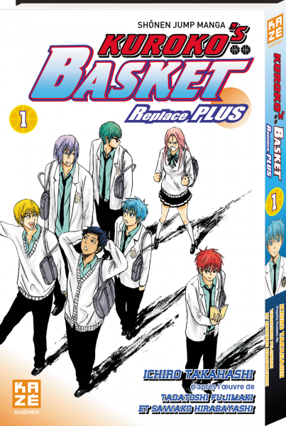 Kuroko's basket replace plus - Tome 01 - Ichiro Takahashi