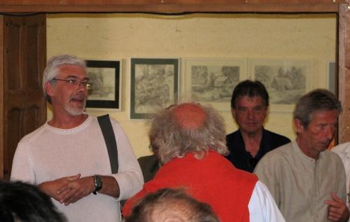 2 juillet 2011 : Vernissage de l'exposition de Serge TZIGANVOV