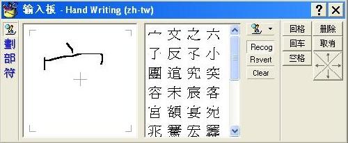 Clavier taïwanais