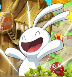 Toudou: rencontrez ce lapin blanc dans un jeu gratuit