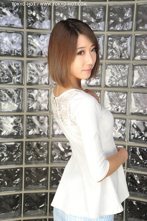 WEB Gravure : ( [Tokyo-Hot] - | 2015.03.27 No.989 | Kaori Shiraishi/白石かおり : Obedience Slender Lady/スレンダー美女キメ技奉仕 )