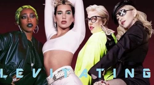 LEVITATING Dua Lipa, feat Madonna& Missy
