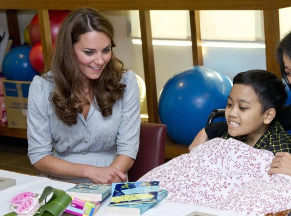 Kate à l'hospice