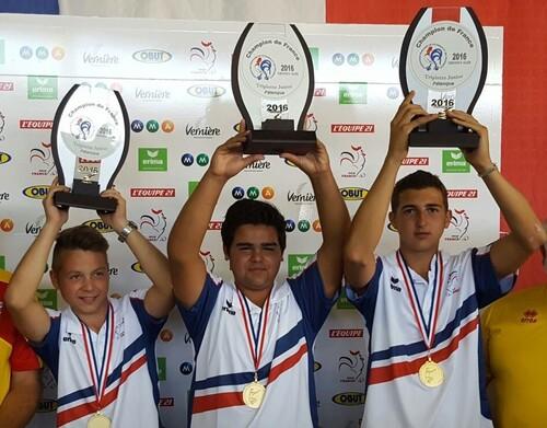 CHAMPIONNAT DE FRANCE 2016 JEUNES À VARENNES S/ALLIER (03)