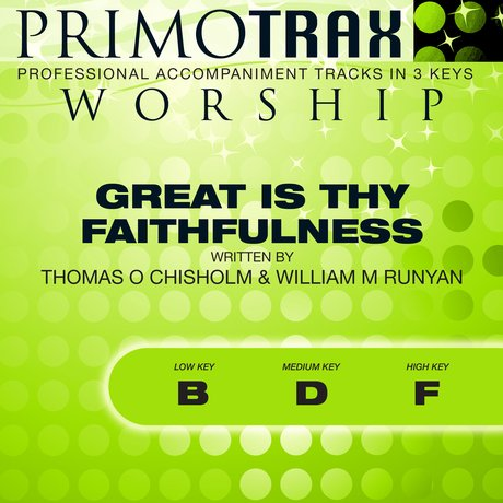 Album cover Great Is Thy Faithfulness (Worship Primotrax) - EP
