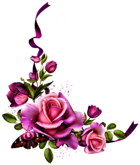 Ornements Floraux (Stylisés) Série 44