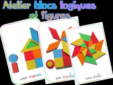 Atelier blocs logiques : fiches