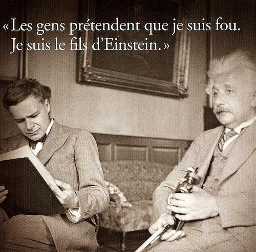 """""""Le cas Eduard Einstein"""" de Laurent Seksik"""