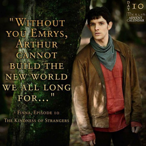 Jour 10 : Without you, Emrys...
