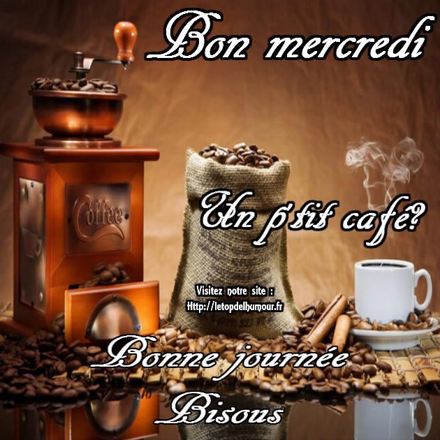 bon mercredi café