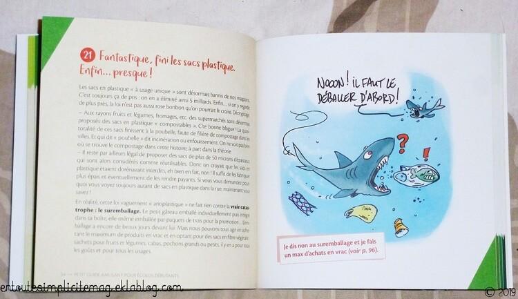 Petit guide amusant pour écolos débutants : 50 gestes qui peuvent tout changer de Sarah Bienaimé