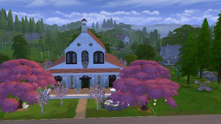 Sims 4 : le mariage d'Hugo Bivouack  et Opale Nolo
