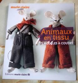 livre animaux en tissu 250