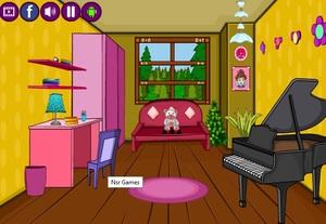 Jouer à DressUp2Girls - Girls room escape 13