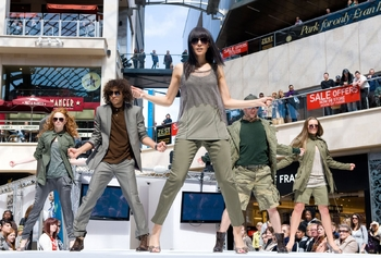 Cabot Circus spring-summer fashion show 5