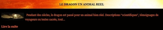 le dragon un animal reel