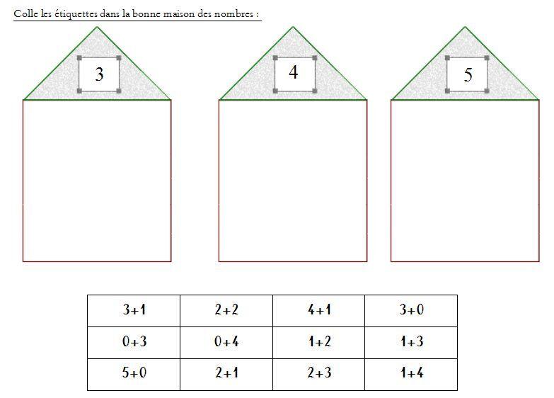 Des exercices avec les maisons des nombres