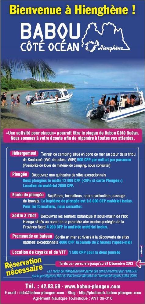 Flyer Babou Côté Océan