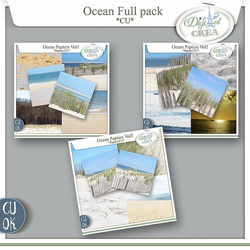 Pack Papiers Cu Ocean