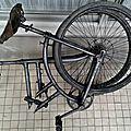 """La bicyclette pliante """"Gérard"""""""