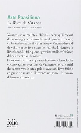 Le lièvre de Vatanen de Arto Paasilinna