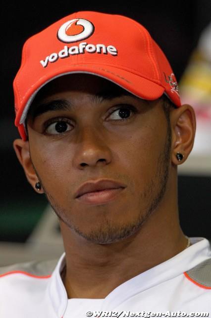 Hamilton ne changera pas son approche à Silverstone