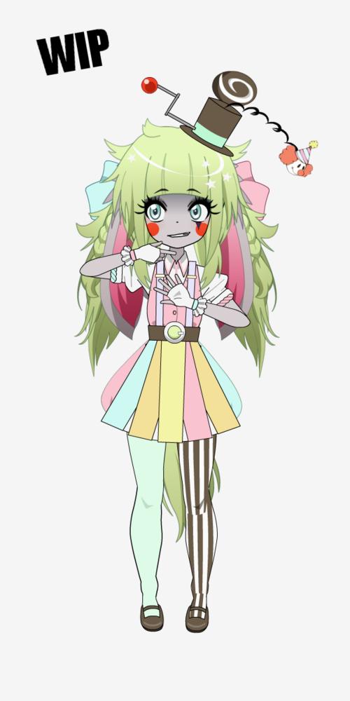 [Kisekae - Crystal] Star of the Show [WIP]