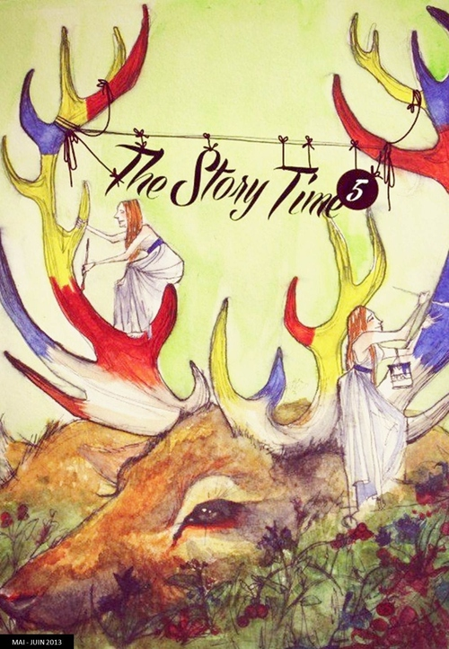 Couverture The Story Time #5 !
