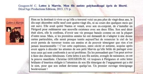 Page du CRA Rhone Alpes Marvin