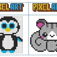 Fichier Modèles Pixel Art Pour Les Temps D Autonomie Chez