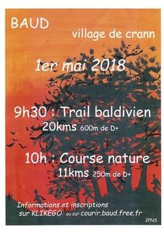 Trail Baldivien - Mardi 1er mai 2018