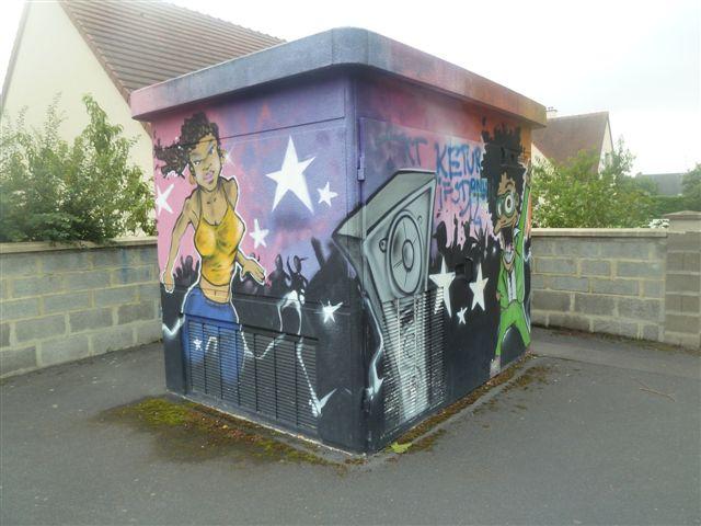 Graff'IFS'sme : un nouveau graff dans la cité...