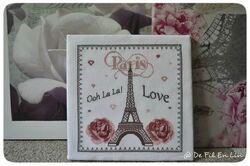 SAL I love Paris de De fil en lin