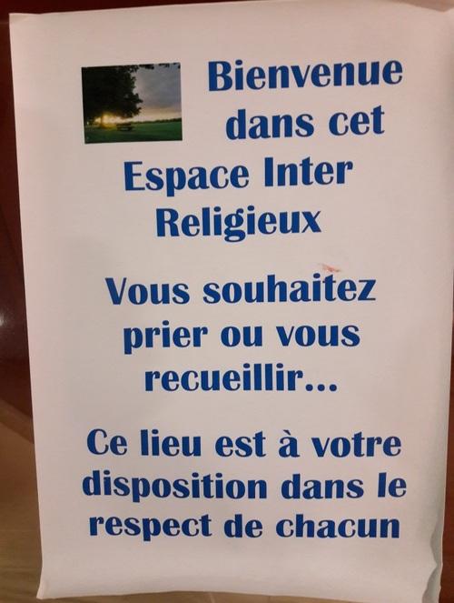 Espace inter religieux...