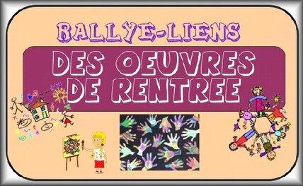 Rallye liens de Maliluno : des oeuvres de rentrée