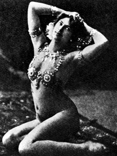 Photo non datée de Margaretha Zelle, alias Mata Hari, fusillée pour espionnge le 15 octobre 1917 ©  PA/AFP/Archives