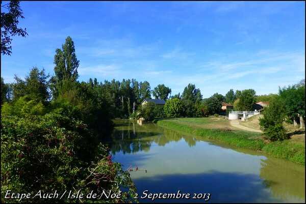 (J2) Auch / Isle de Noé _2 septembre 2013_ (23km) (5)