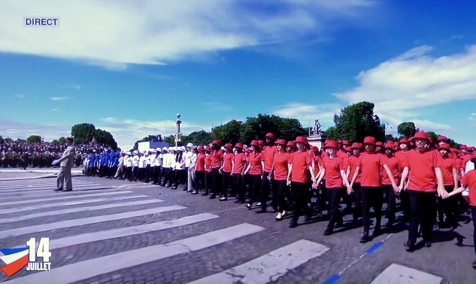 Défilé du 14 juillet en direct