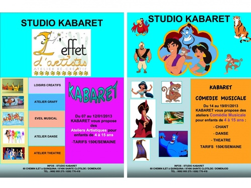 Vacances Artistiques à Kabaret