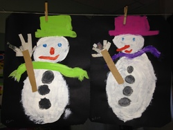 Les bonhommes de neige des MS-GS