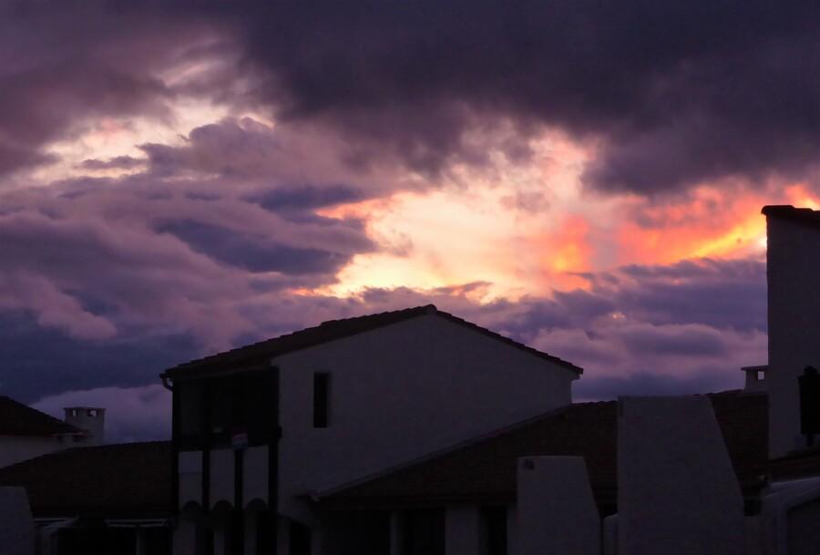 Le ciel n'est pas toujours rose.....
