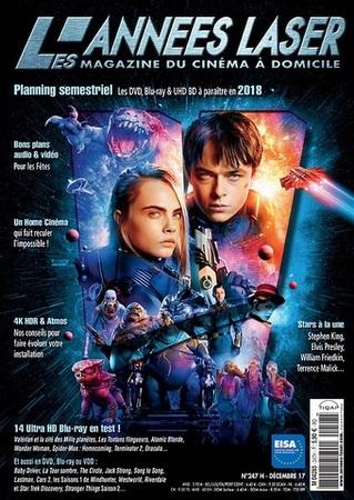 """Les Années Laser N° 247 décembre 2017 """"Magazine"""""""