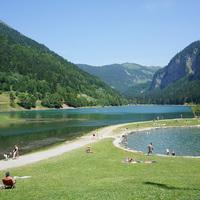 Le Lac de Montriond - Juillet 2015
