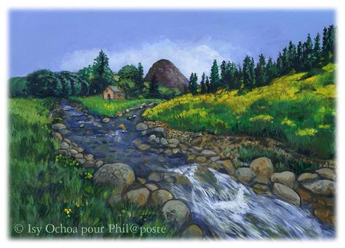 Les petits ruisseaux en poème