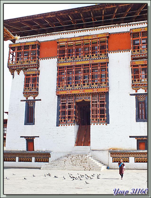 Blog de images-du-pays-des-ours : Images du Pays des Ours (et d'ailleurs ...), Le Monastère forteresse de Thimphu: Tashichoedzong (Tashichhodzong) - Bhoutan